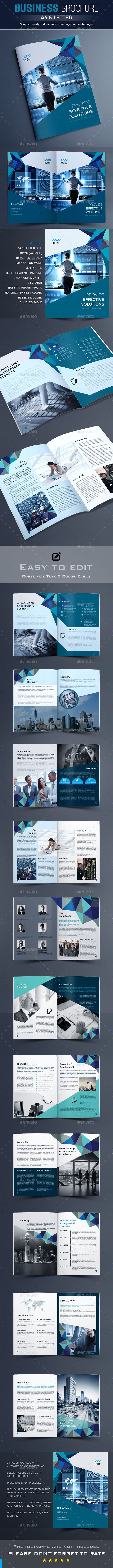 Brochure Template Vector EPS, InDesign INDD, AI Illustrator