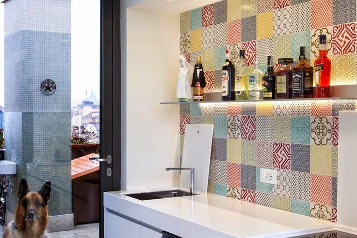 Piastrelle vintage cucina cerca con google casa - Cucina con piastrelle ...