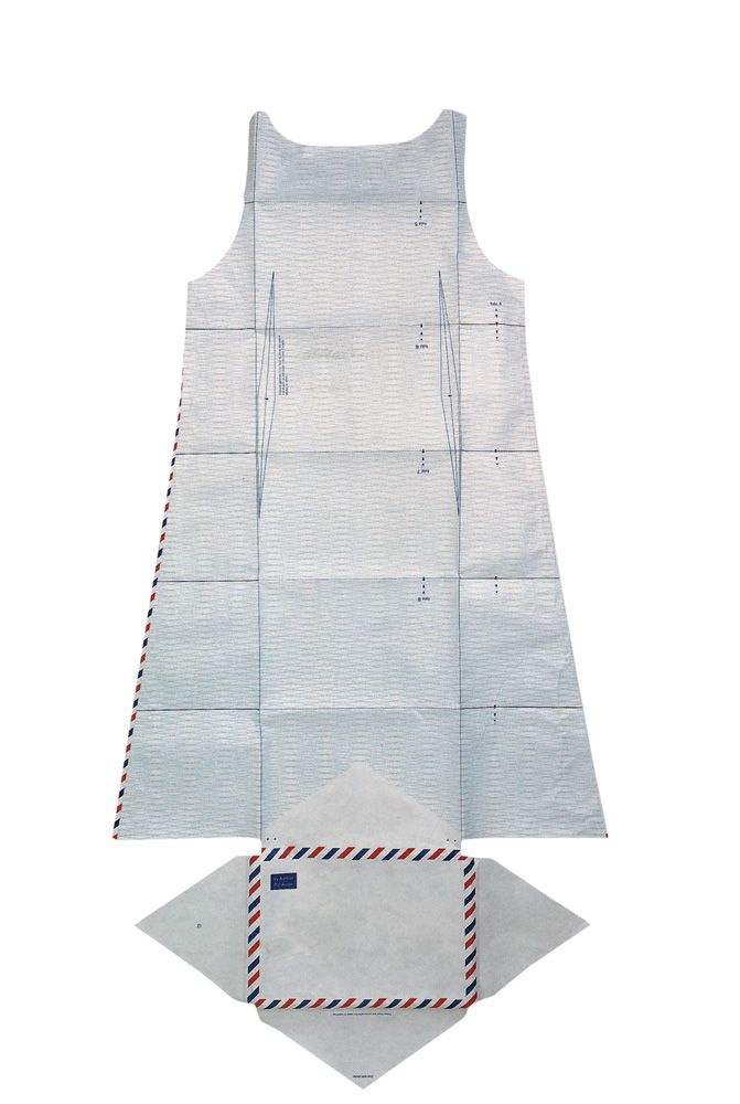 Hussein Chalayan, Airmail Dress, 1999