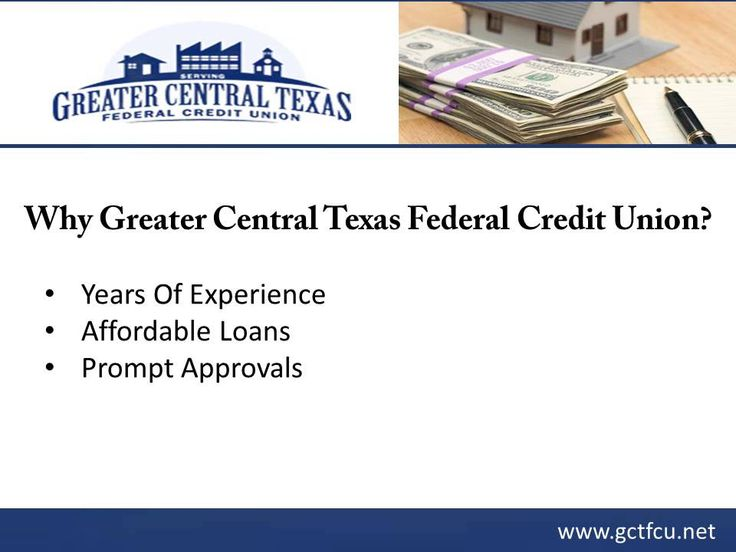 for secured loan in Killeen, TX, consider Greater Central Texas ...