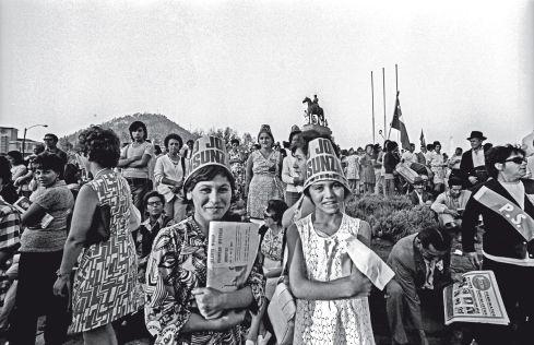 Los chilenos de hace 40años #labettyrizzo