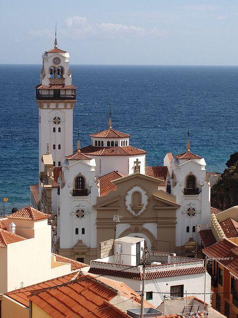 Basilica, Candelaria. Tenerife. Canary Islands