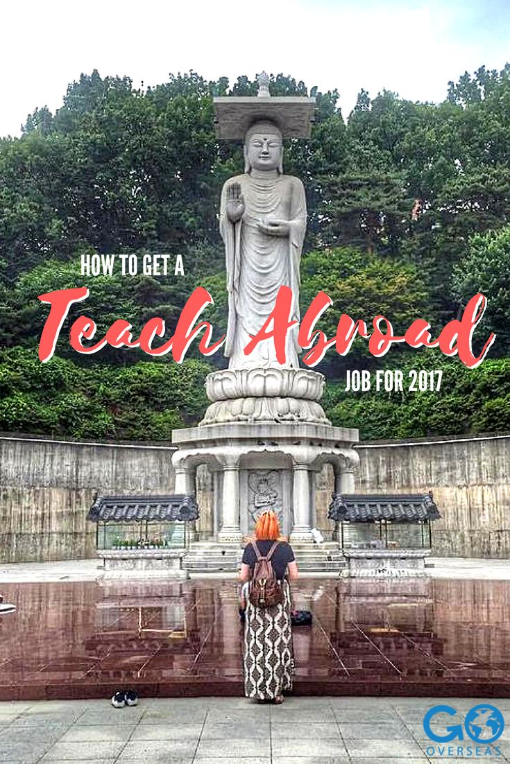 Want to teach abroad? Find a teach abroad job in 2017-2018 at one of these schools!