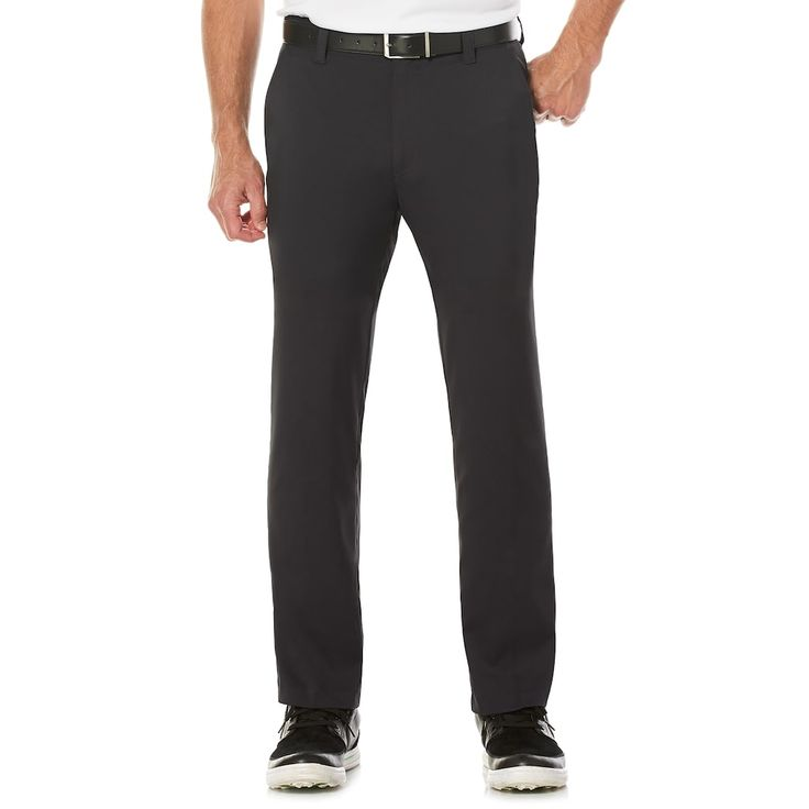 Men's Grand Slam Slim-Fit MotionFlow 360 Active Waistband Stretch Golf Pants, Oxford