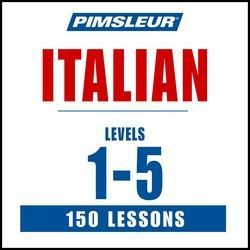 Pimsleur Italian 5 Levels (150 Lessons) MP3 (Download)