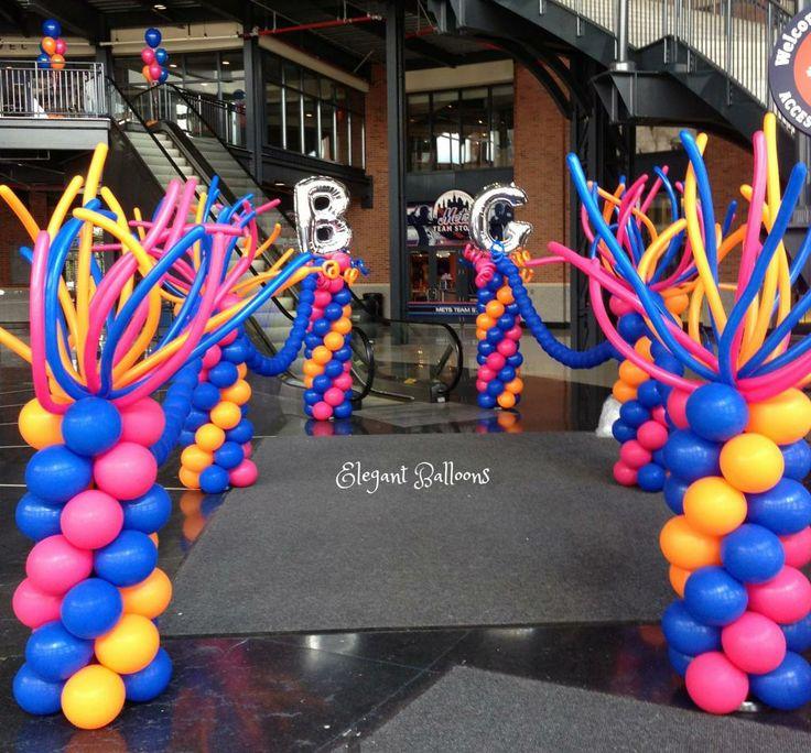 730 Best Balloon Columns, Pillars, Decoration Images On