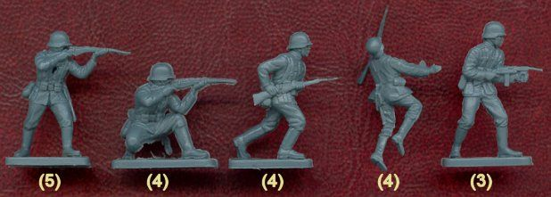 Plastic Soldier Review is a site dedicated to providing a central source of information on all the major 1:72 scale plastic soldier sets currently and previously available.