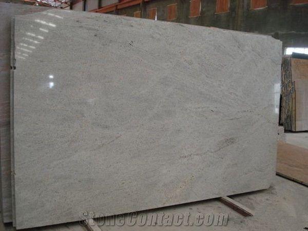 Kashmir White Granite Countertopsprefab Granite Kitchen Countertop India  White Prefab Countertopgranite