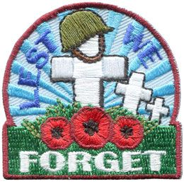 http://e-patchesandcrests.com/catalogue/patches/holidays_special_days/remembrance_day/E138_lestweforget_crosses.php