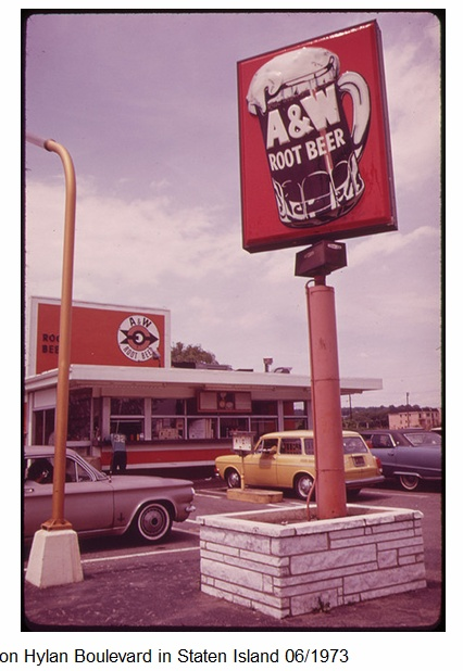 Staten Island Restaurant In 1973 The Quot Roots Quot Of A Amp W