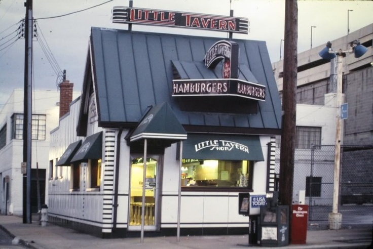 Little Tavern Hamburgers, Silver Spring Maryland.