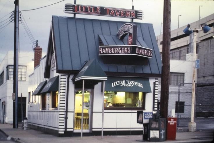 Little Tavern Hamburgers, Silver Spring Maryland.