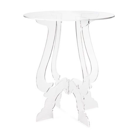 Crossed-Legs Methacrylate Table | ZARA HOME | clear, table, royal, living room