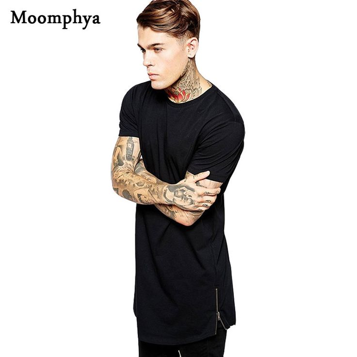Find More T-Shirts Information about 2016 Long Size Black Mens Tops T Shirt Short Sleeve Casual T Shirt With Zip Hip Hop Sale T Shirt Fashion street wear Shirt dance,High Quality shirt basic,China shirt polyester Suppliers, Cheap shirts skateboard from Moomphya Apparel Flagship Store on Aliexpress.com