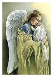 guardian angel: sweet. Love, however depicted, is spiritual to me. Love this!