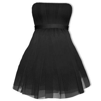 Second Life Marketplace - Mimikri - Miu Tulle Dress black Maitreya ... e79986dcd
