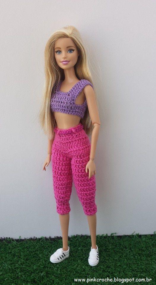 Olá pessoal, s e você como eu, gosta de fazer roupinhas de crochê para bonecas, você acaba de entrar na página certa. Este espaço está res...