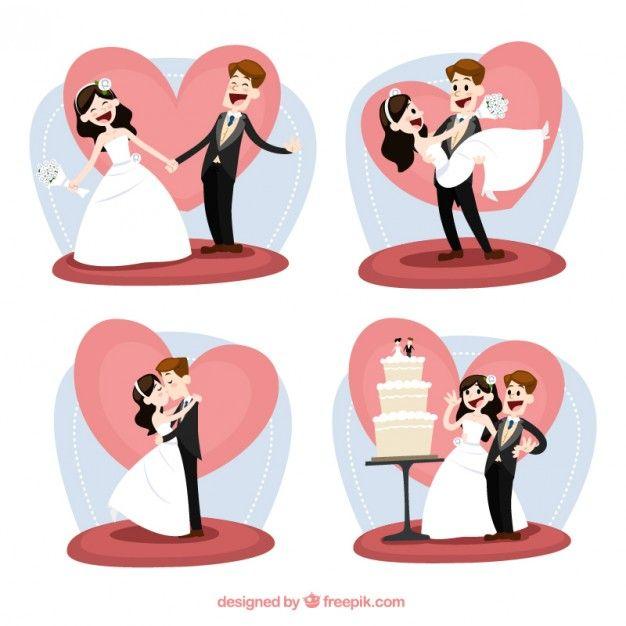 Apenas casado   Baixar vetores grátis