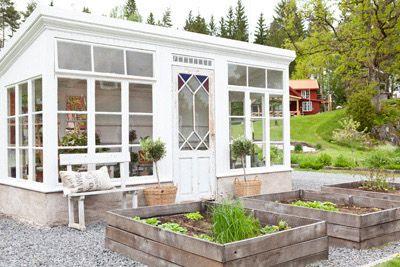 Anna Truelsen inredningsstylist - garden shed