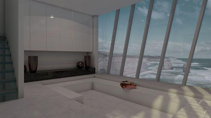 Sala com vista