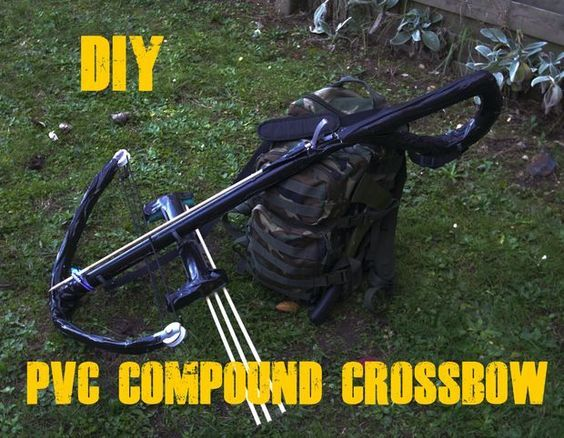 DIY  PVC survival compound crossbow