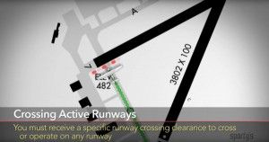 Video Tip: runway safety for pilots  Aviation safety isnt just about flying. Getting around on the ground is a critical skill for pilots of any level  in fact the most deadly aviation accident in history involved a runway incursion. In this weeks tip we share some helpful tips for understanding airport signs asking ATC for help and using apps to prevent mistakes.  The video clip belowis from Sportys complete Learn to Fly Course.