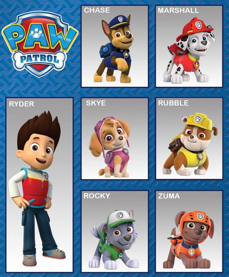 Pase Patrol Team Paw Patrol Pinterest Paw Patrol