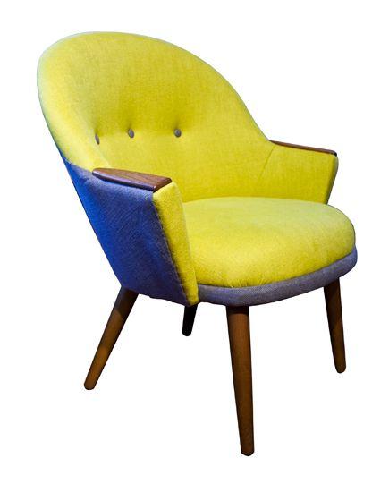 Upholstered Chair Denmark c.1950