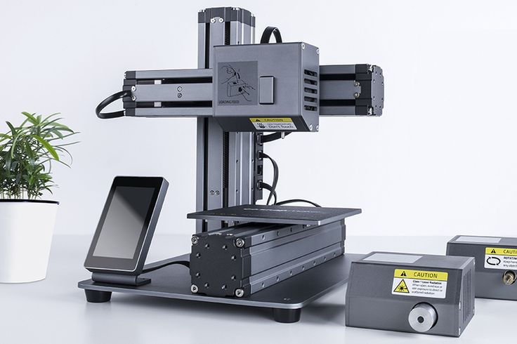 Snapmaker is an upcoming Kickstarter project with a lofty goal: to be the holy trinity for at-home makers by using detachable modules to convert between a 3D printer, a CNC carver, and a laser...