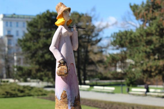 sculpture, figurines, ceramic figurine, figurative sculpture, retro, unique ceramic, ceramic and pottery, ceramic by Agnieszka Beer