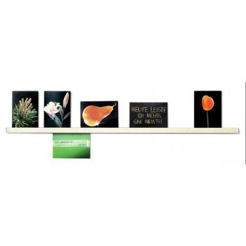 #Wandleiste Klemmleiste zum Zeigen schöner Fotos oder Postkarten