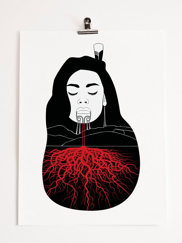Papatuanuku (Earth Mother).