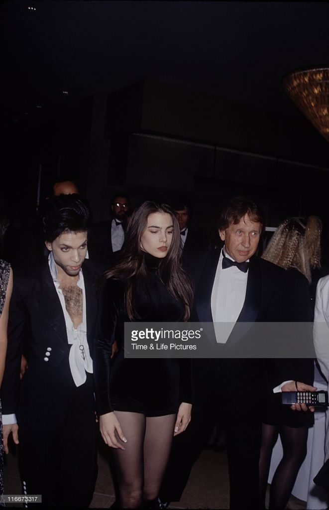 Prince with Diamond & Pearl AKA Robia LaMorte & Lori Elle