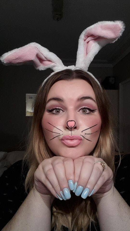 Bunny Halloween Makeup