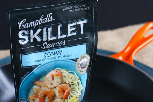 Campbell's Skillet Sauces  #CampbellsSauces #sponsored