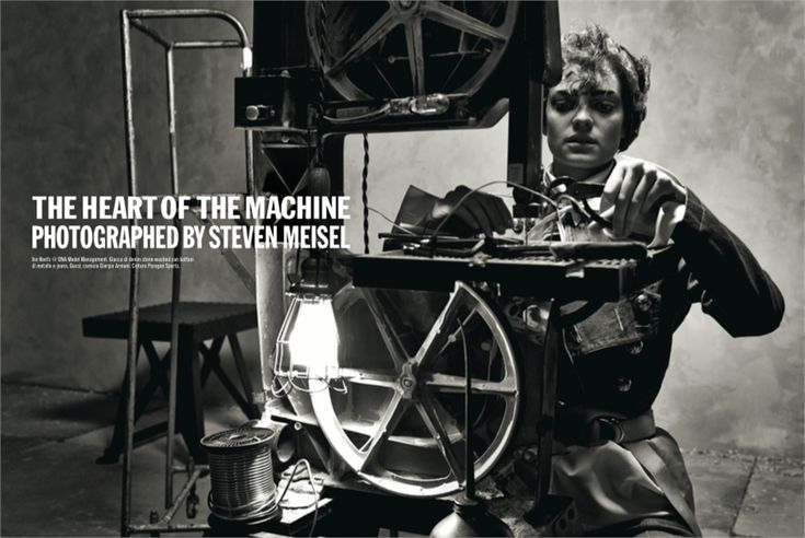 "Vogue Itália February 2015 | ""The Heart of The Machine"" by Steven Meisel [Editorial]"