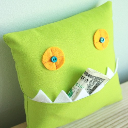 Monster cushion