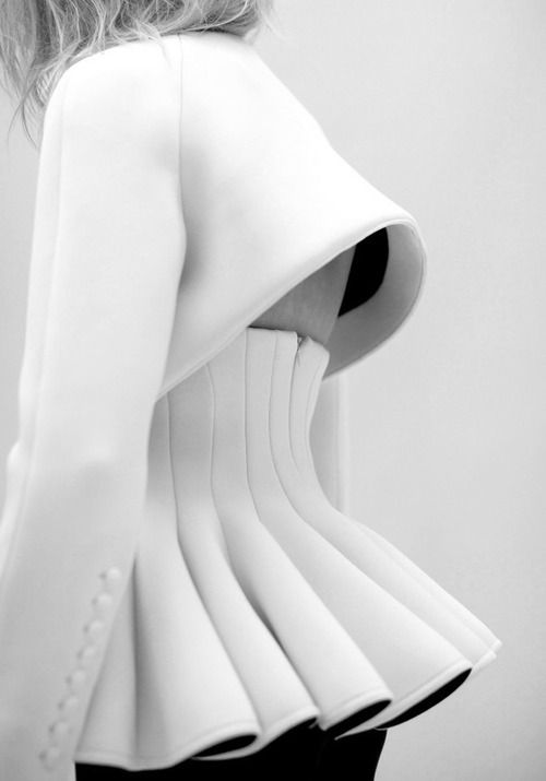 Robert Wun | Burnt Diffusion Line, 2013 Sculptural, fashion, designer, fashion style, detail, silhouette, constructed, catwalk, structure