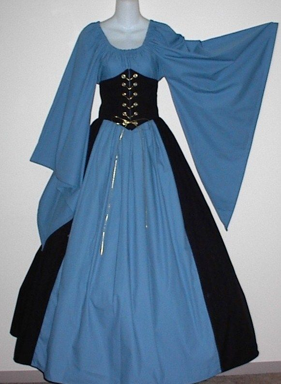 Dagget Sleeve Cincher Set - renaissance clothing, medieval, costume