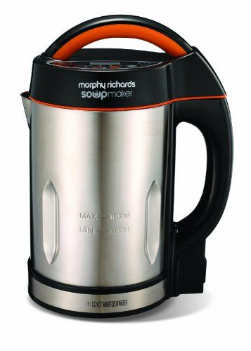 From 22.79:Morphy Richards 48822 Soupmaker - Stainless Steel