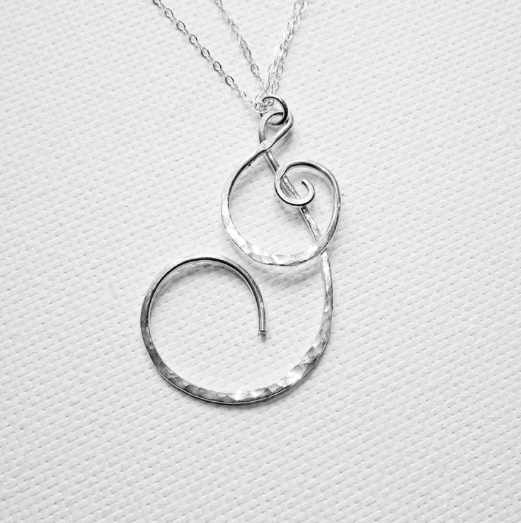 Letter J Necklace Letter Necklace Personalized Necklace Large Initial J Necklace  Sterling Silver Initial J Gold Letter J Christmas Gift by BelleAtelierJewelry on Etsy https://www.etsy.com/listing/164150967/letter-j-necklace-letter-necklace