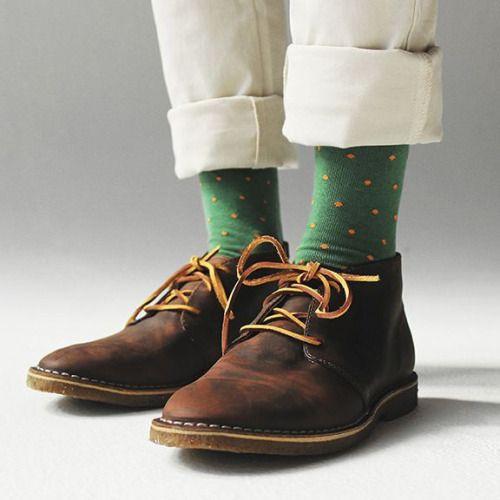 maxtonmen: Richer Poorer Polka Dot Socks - rowdyRAIDER