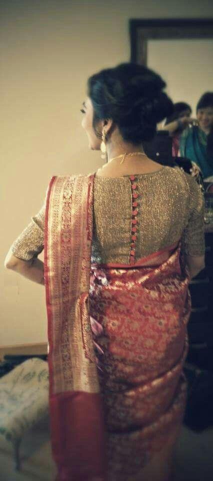 Blouse design - Nepali wedding
