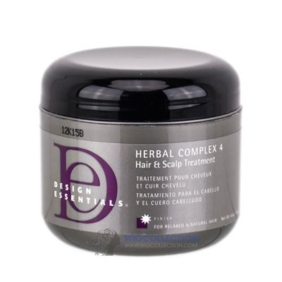DESIGN ESSENTIALS HERBAL COMPLEX 4 HAIR + SCALP TREATMENT  http://www.wigcollection.com/