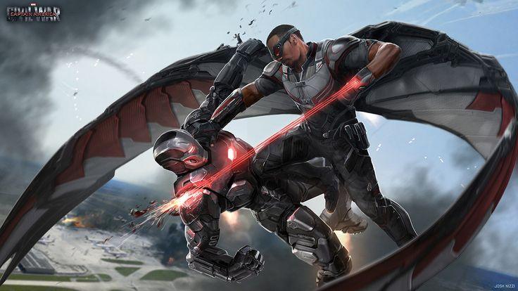 Концепты фильма «Первый Мститель: Противостояние» | GeekCity