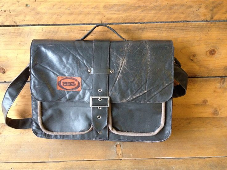 Men,s bag made of sofa leather