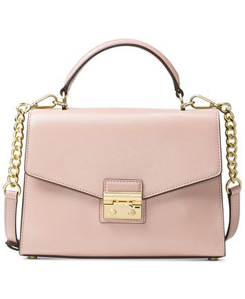 10ee305534b7 MICHAEL Michael Kors Soft Pink Sloan Medium Top-Handle Satchel ...