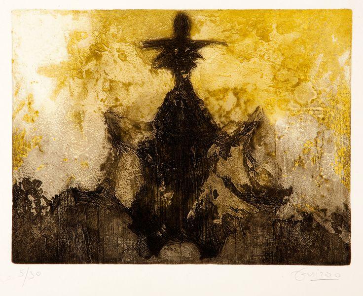 Así como Hermann Rorschach confió en el poder evocador de las manchas de tinta resueltas con simetría bilateral para evaluar la personalidad de sus pacientes, Diego Guirao traslada al ámbito artístico la reflexión sobre la fe de la ciencia en alcanzar los recovecos del alma mediante imágenes ambiguas y sugerentes.