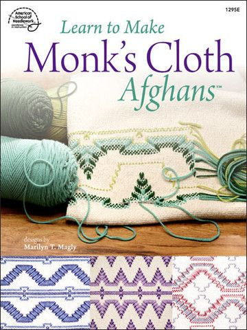 Picture of Learn to Make Monk's Cloth Afghans