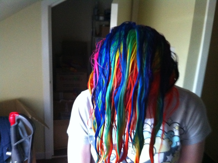 wet curls